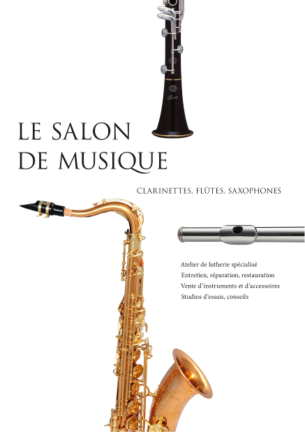 Le Salon de Musique, atelier spécialisé clarinettes, flûtes et saxophones à Strasbourg