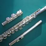 Flûte avant entretien